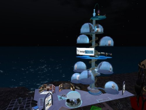 Prim Perfect / Designing Worlds exhibit at SL6B