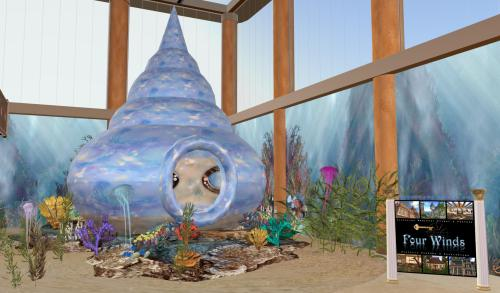 Mermaid Habitat by Koshari Mahana
