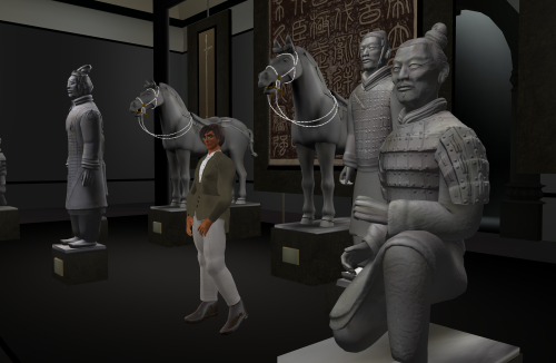 Terracotta Warriors in the Museum