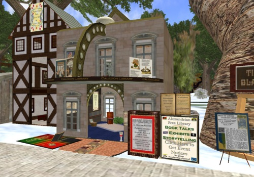 Tinyville Library in Caledon Tanglewood