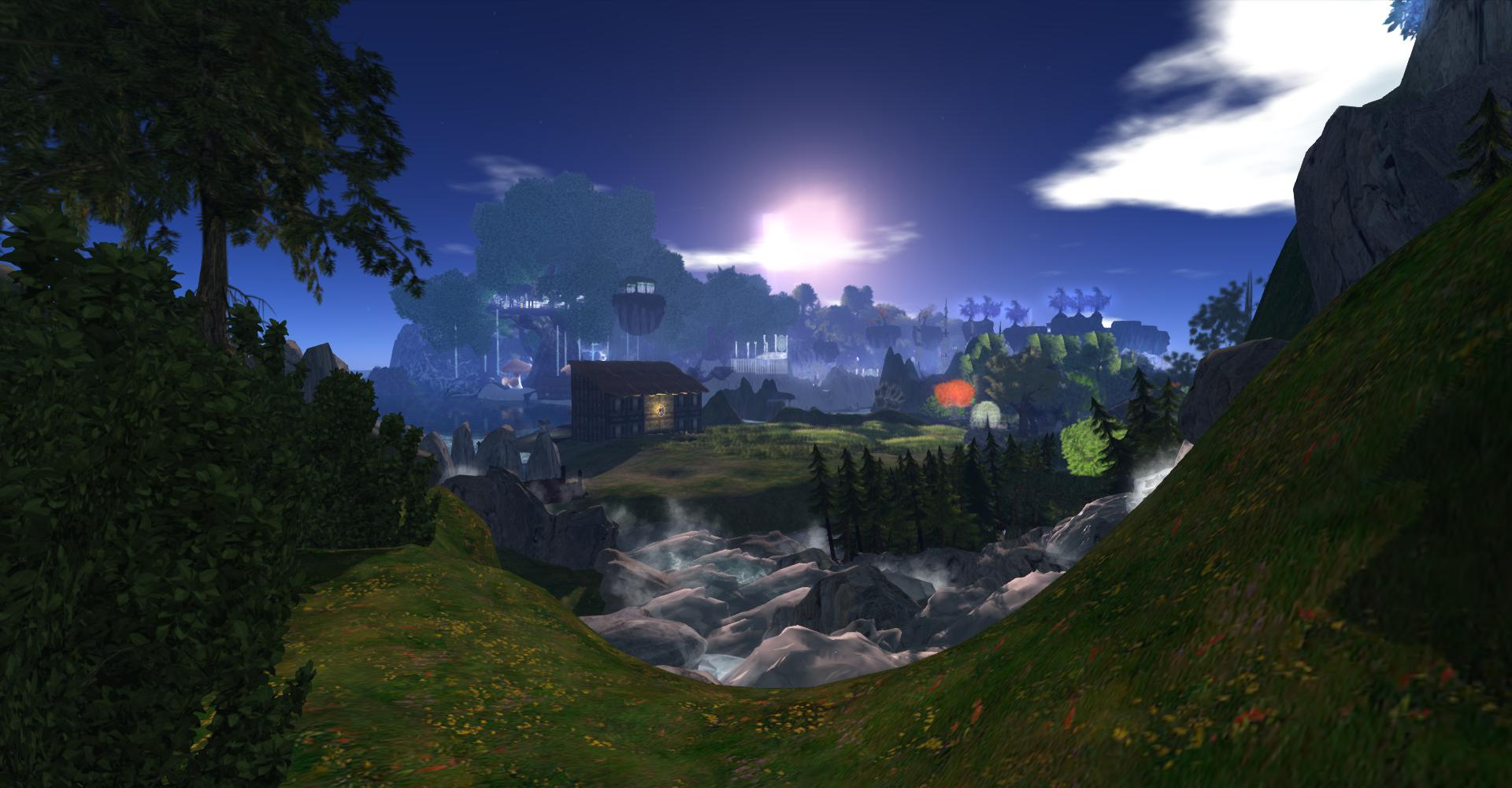 The Realm of Avilion: photograph by Wildstar Beaumont
