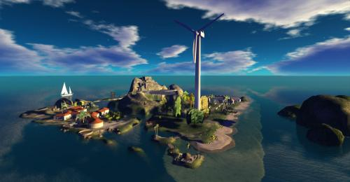 Serenity Island, Kitely - photograph by Wildstar Beaumont