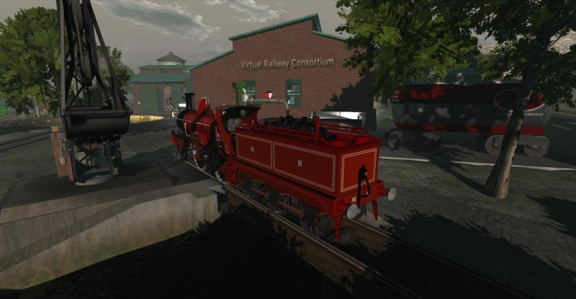 Steam Engine at the Virtual Railway Consortium - picture by Wildstar Beaumont