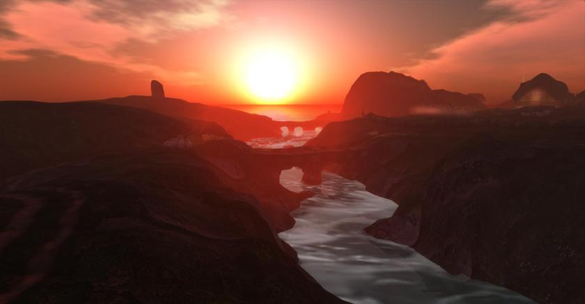 Alchemy Immortalis: Sunset - photograph by Wildstar Beaumont