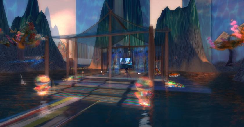 Water and Glass, a Kitely World created by Karima Hoisan and photographed by Wildstar Beaumont