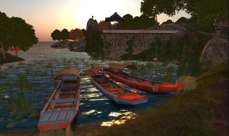 Fishing boats in Hosoi