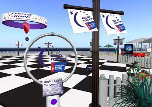 A Relay for Life of Inworldz Event Area