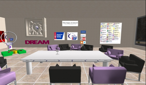 Inside the Relay for Life of Inworldz Offices