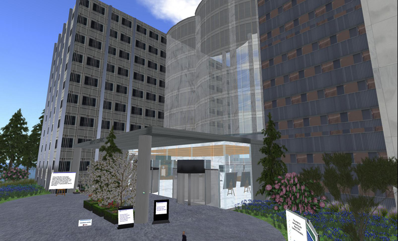 The Mayo Clinic in Second Life