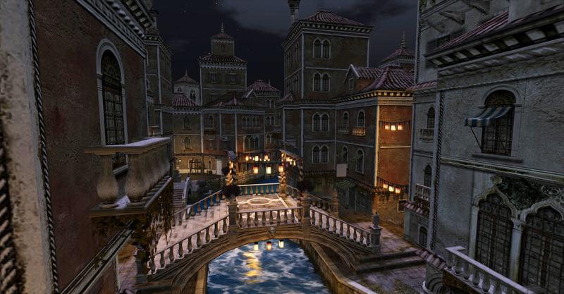 The canals of Venexia