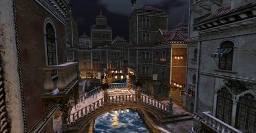 The canals of Venexia