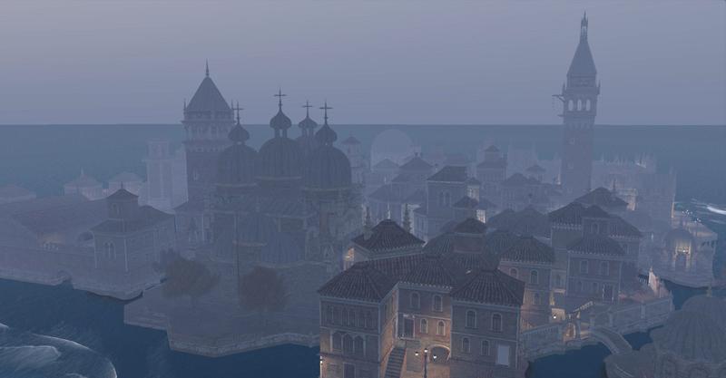 Venexia in the mist