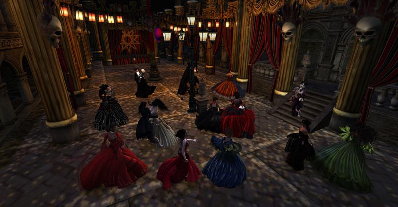 Vampire Ball in Venexia
