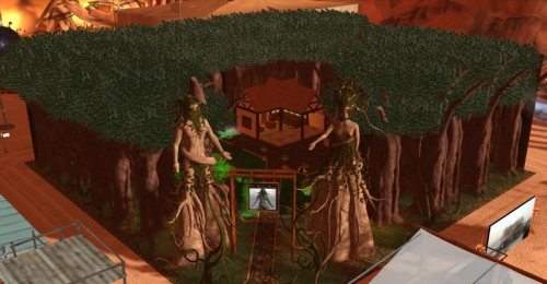 The Green Man at Burn2 -  photograph by Wildstar Beaumont