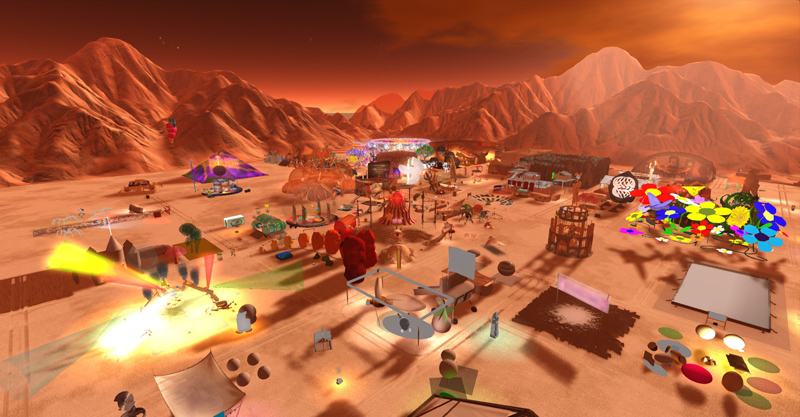 Art in the Desert at Burn2 -  photograph by Wildstar Beaumont
