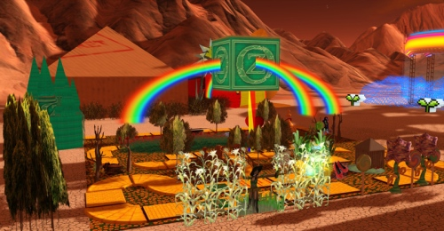 Fertile ideas in the Desert at Burn2 -  photograph by Wildstar Beaumont