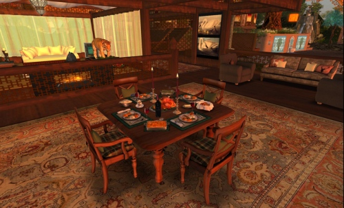 Celebrating Thanksgiving in Second Life