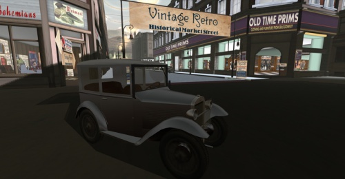 Vintage Retro - photographed by Wildstar Beaumont
