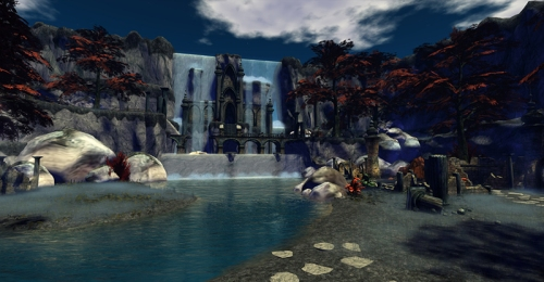 The Valley of Ish'Nar - where the second part of the Hunt occurs - photograph by Wildstar Beaumont