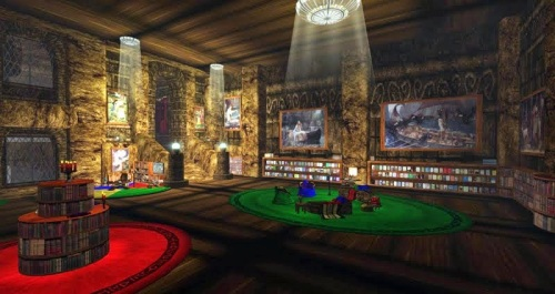The Library at Grendel's