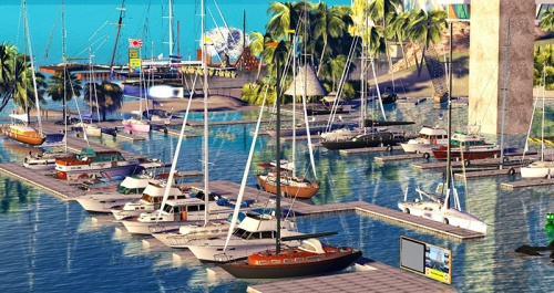 Tradewinds: Sailing in Second Life; photograph by Wildstar Beaumont