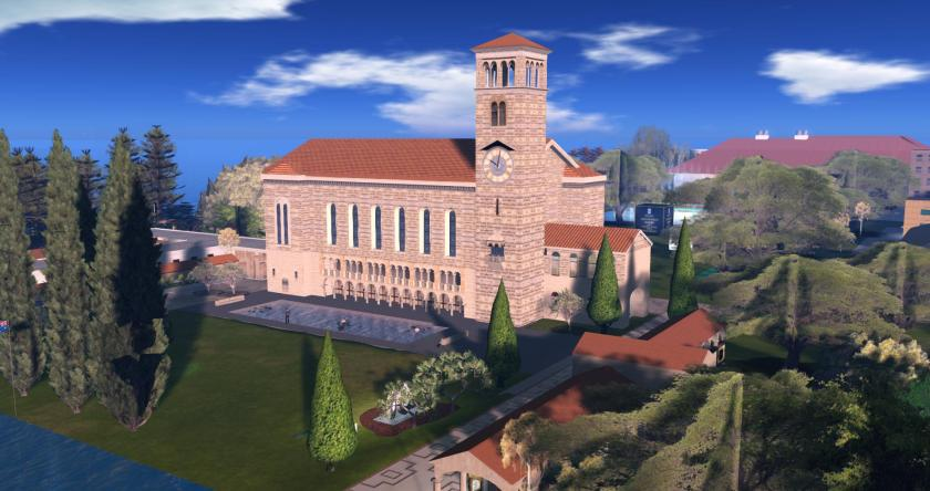 The University of Western Australia in Second Life