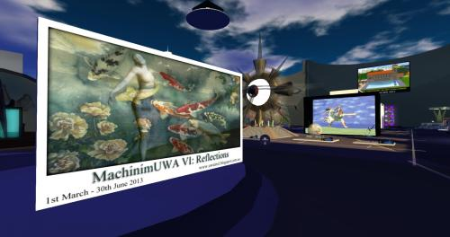Art and Machinima Challenges at the University of Western Australia in Second Life