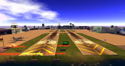 Hollywood Airport - photograph by Wildstar Beaumont