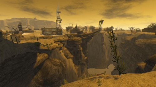 The Great Fissure in the Wastelands