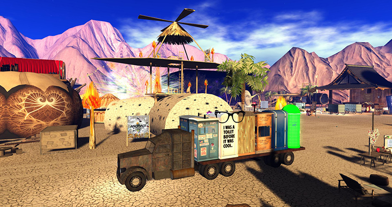 On the Playa at Burn 2 - photograph by Wildstar Beaumont