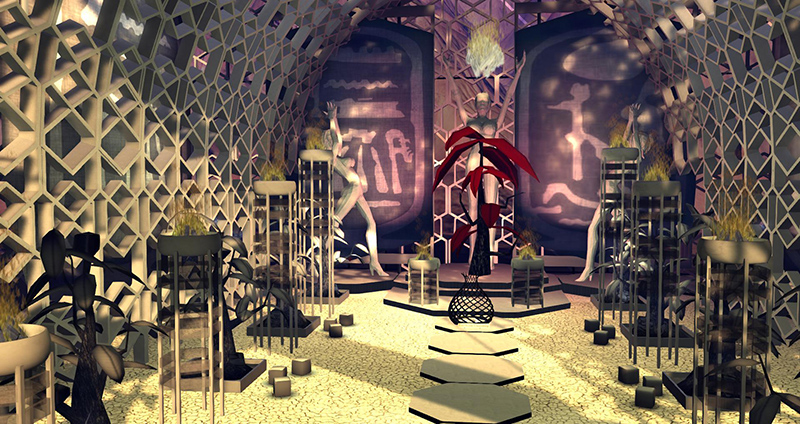 The Temple at Burn 2 - photograph by Wildstar Beaumont