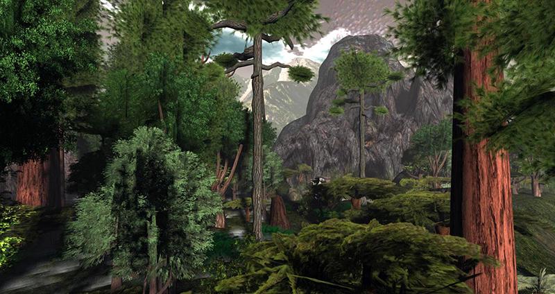 A primeval landscape