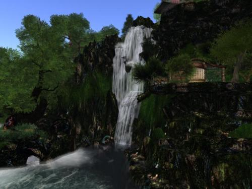 Waterfall on Oubliette