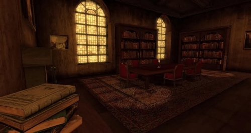 The Library - another Dreamscene created by Kayle Matzerath, photographed by Wildstar Beaumont