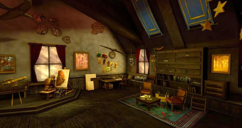 The Atelier - the newest Dreamscene created by Kayle Matzerath, photographed by Wildstar Beaumont