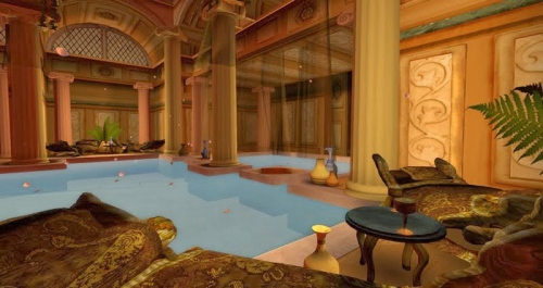 The Roman Baths - another Dreamscene created by Kayle Matzerath, photographed by Wildstar Beaumont
