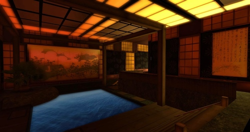 The Asian Loft - tanother Dreamscene created by Kayle Matzerath, photographed by Wildstar Beaumont