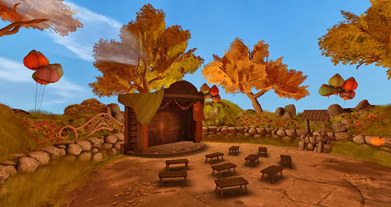 The Fest Theatre - another Dreamscene created by Kayle Matzerath, photographed by Wildstar Beaumont