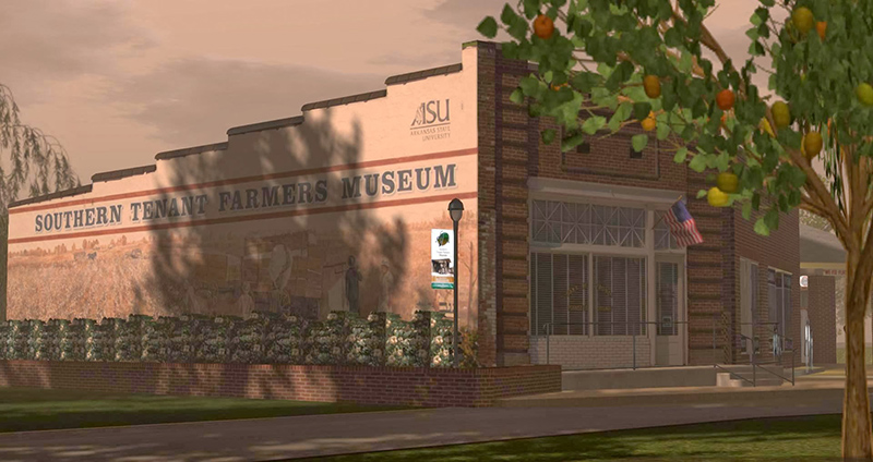The Sourthern Tenant Farmers Museum, photographed by Wildstar Beaumont