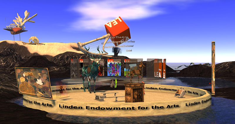 The Gateway at the Linden Endowment for the Arts, photographed by Wildstar Beaumont
