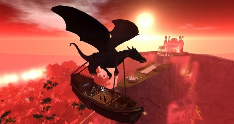 The Fairechild over Hopes Horizon, photographed by Wildstar Beaumont