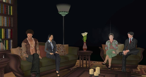 Second Life Retention Discussion, photographed by Wildstar Beaumont