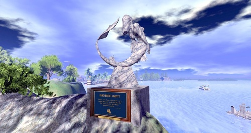 Fanci's Memorial, photographed by Wildstar Beaumont
