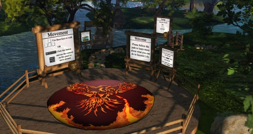 Firestorm training path, photographed by Wildstar Beaumont