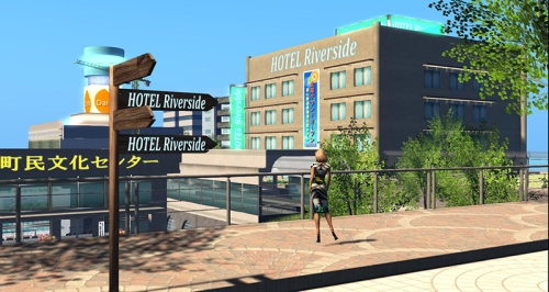 Hotel Riverside, free accommodation for new Japanese residents