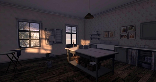 Froukje Hoorenbeek's Home - the laundry, photographed by Wildstar Beaumont