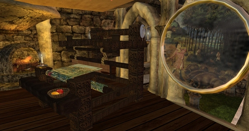 Home and Garden Expo 2014: Prim Perfect Castle - the Lady of Shalott's Loom and Mirror, photographed by Wildstar Beaumont