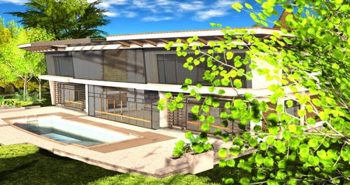 Home and Garden Expo 2014: Cain Maven's Eichler style home, photographed by Wildstar Beaumont