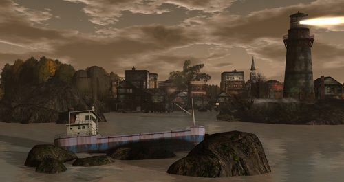 View of Innsmouth, photographed by Wildstar Beaumont