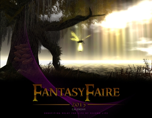 Fantasy Faire Calendar Cover Heavenslough